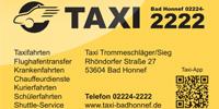 Taxi Trommelschläger/Sieg