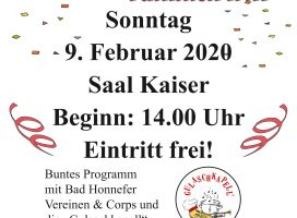 """Wenn sich de Famillich trifft"" – 09.02.2020"